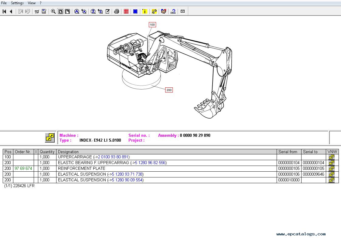 liebherr lidos lfr online 2018 catalog manuals rh epcatalogs com liebherr excavator parts manual liebherr cranes parts manual