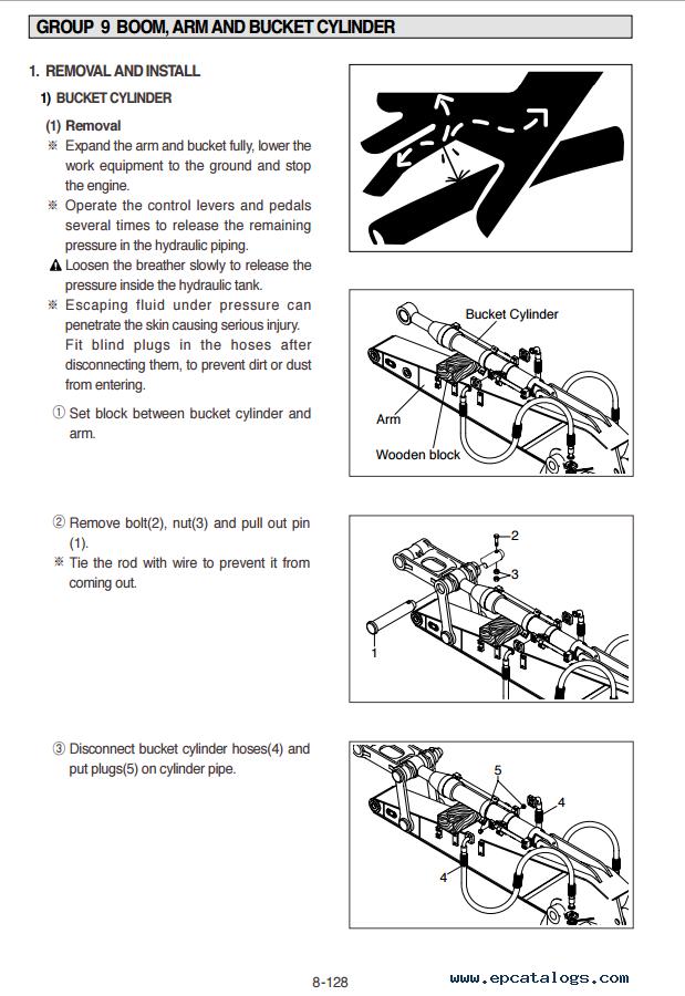hyundai r210lc 7a crawler excavator workshop service repair manual download
