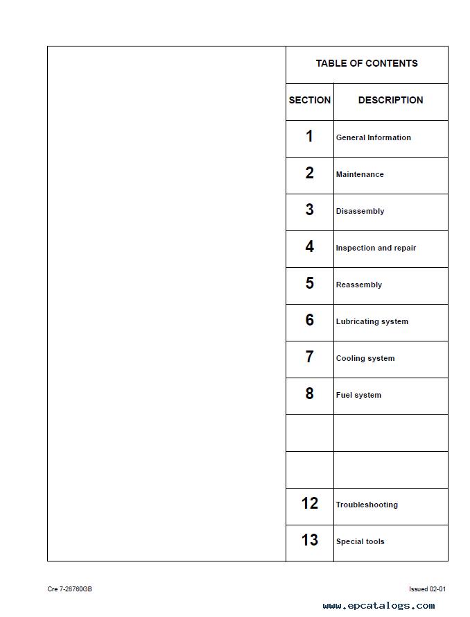 Isuzu Bb 4jg1t Manual