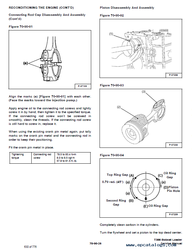Bobcat T300 Turbo High Flow Loaders Service Manual PDF DownloadEPCATALOGS