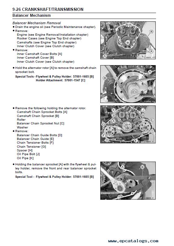 Kawasaki Vulcan  Service Manual