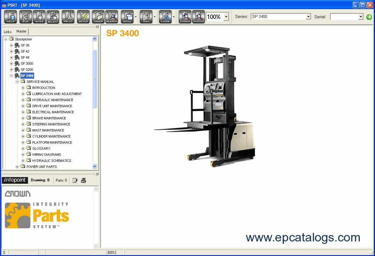 crown pw 3000 wire diagram 26 wiring diagram images Crown Pallet Jack Parts  Manual Crown Pallet Jack Parts Breakdown