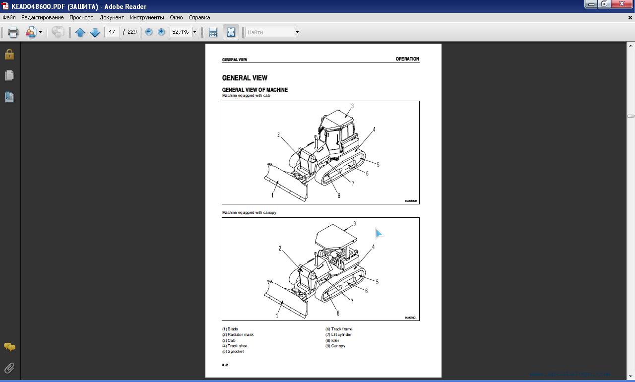 Komatsu d41p service manual
