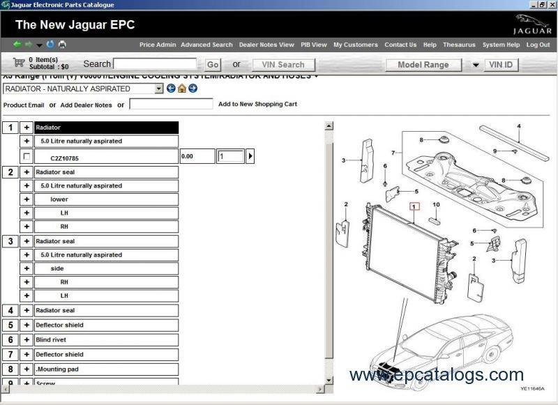 jaguar jepc 2014 spare parts catalog download rh epcatalogs com 2003 Jaguar X-Type Parts jaguar oem parts diagrams
