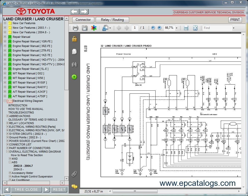 ToyotaLandCruiser toyota prado 120 125 2002 2008 rzj kzj kdj workshop manual cd toyota prado 150 wiring diagram pdf at webbmarketing.co