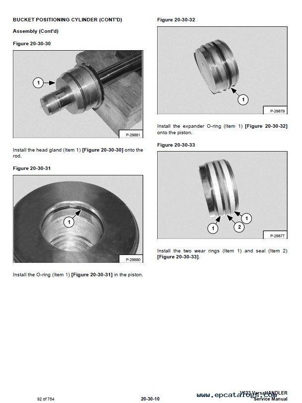 bobcat 341 control valve assembly pdf