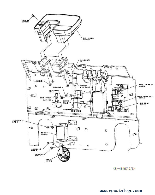 Clark Forklift Ecx20 32 Epx20 32 Pdf Service Manual Download
