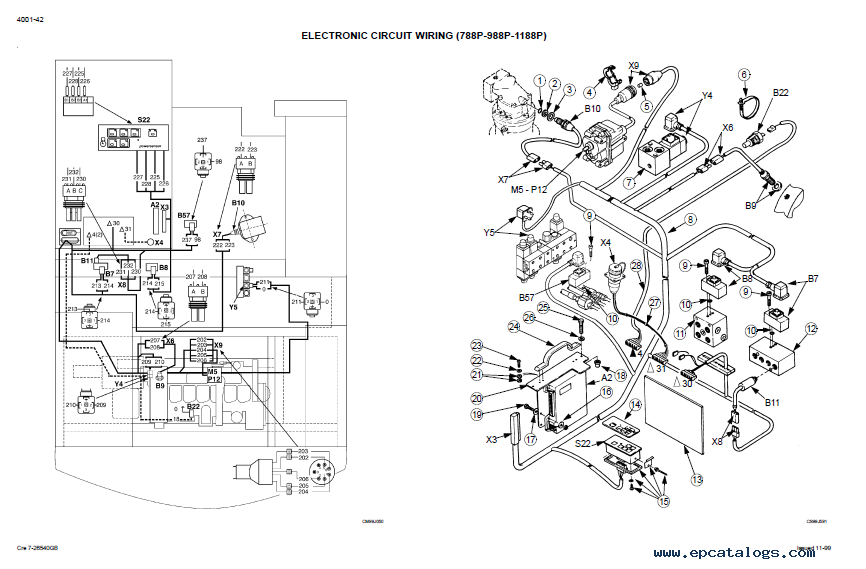 downlpad case 788 988 hydraulic excavators schematic pdf House Cat 5 Wiring Diagram