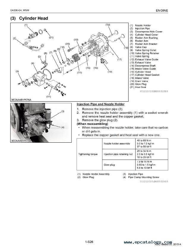 kubota ea330 e4 series diesel engine workshop manual pdf rh epcatalogs com Kubota 3 Cylinder Diesel Engine Stop Silonoid Kubota 3 Cylinder Diesel Engine Parts