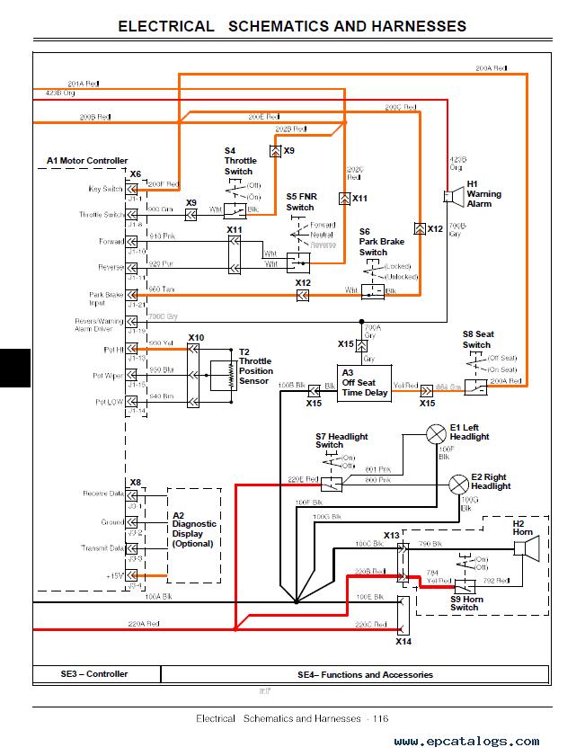 John Deere Gator Utility Vehicle Te Tm2339 Technical Manual