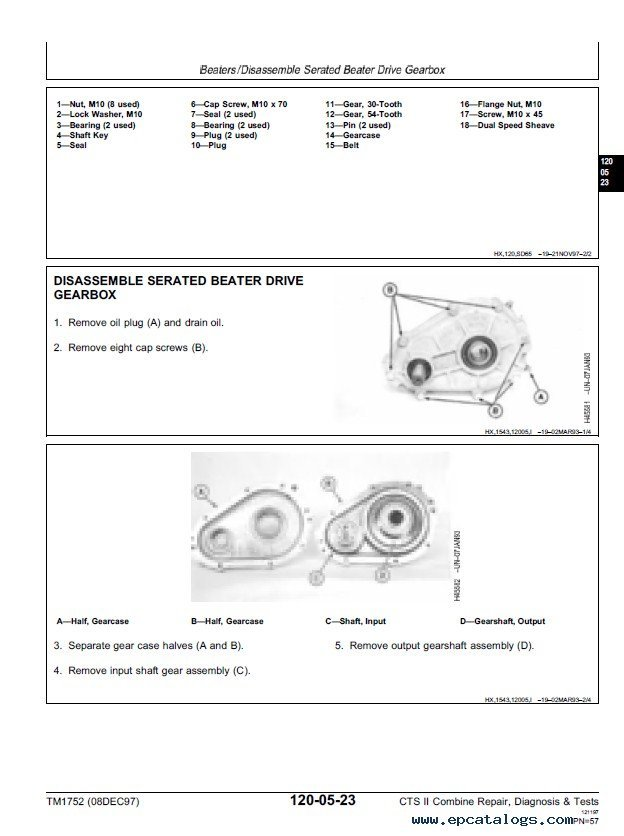 John deere cts 2 Manual on