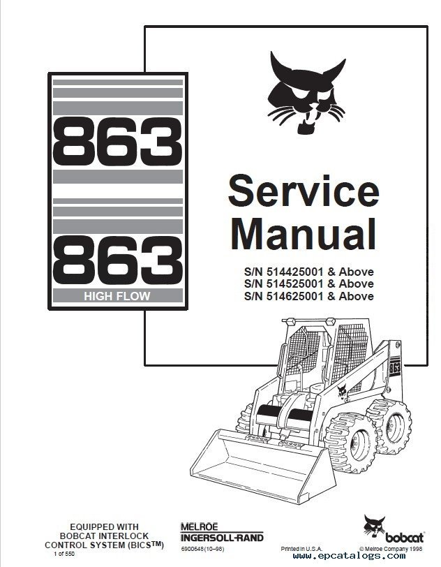 853 bobcat engine diagram 542b bobcat skid steer engine