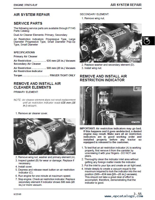 John Deere F1145 Service Manual - Enthusiast Wiring Diagrams •