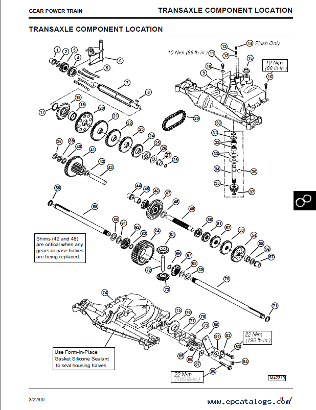 john deere sabre lawn garden tractor tm1769 repair manual pdf john deere sabre transmission diagram wiring library diagrams
