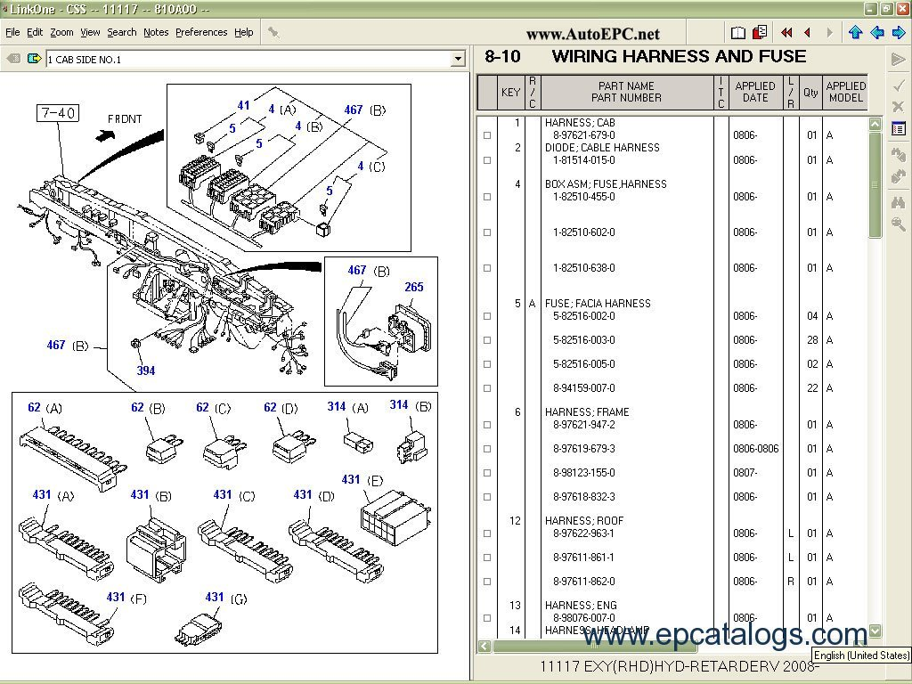 isuzu engine parts catalog on isuzu 4hk1 engine wiring diagram rh totalnutritiontampa com isuzu npr 4hk1 wiring diagram Isuzu 4Bd