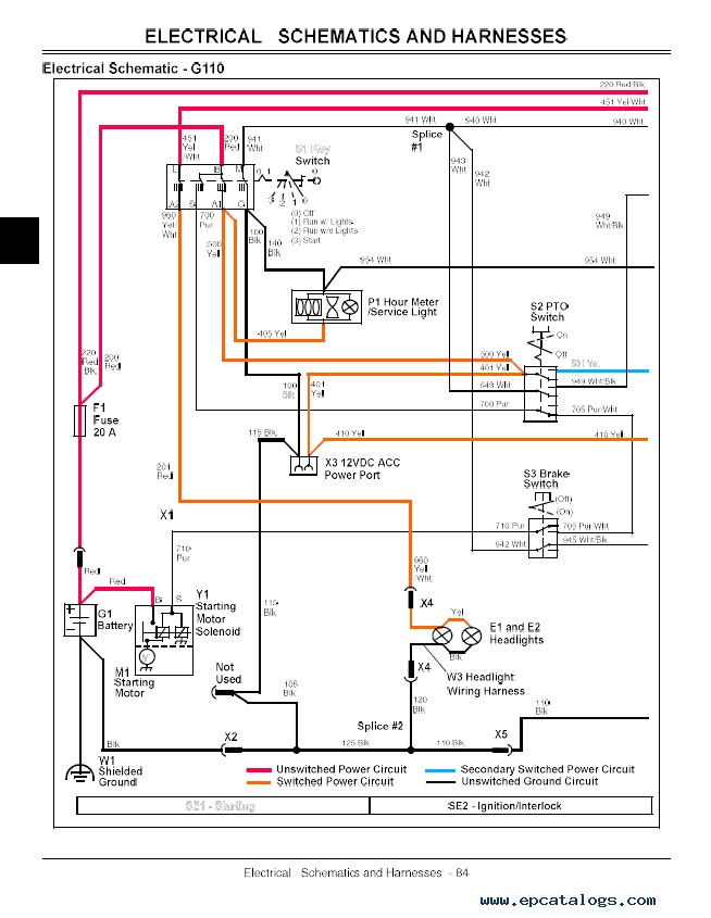 john deere g100 wiring diagram john deere 2010 wiring diagram free download