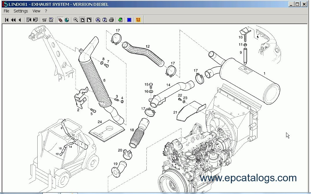 Toyota Forklift Parts Breakdown
