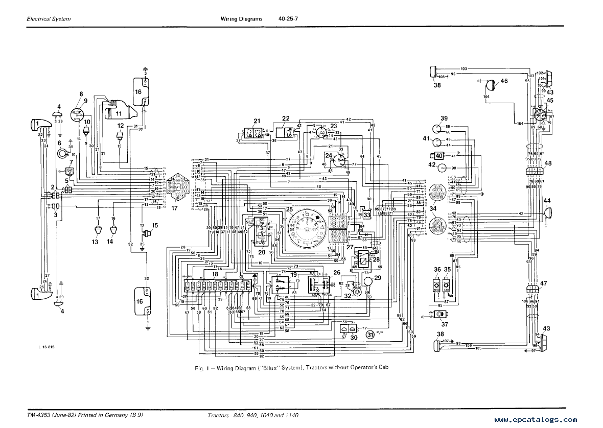 Wiring Diagram For John Deere 5105m Tractor Diagrams 5105 Kubota 1140 Pdf 6115d Specs