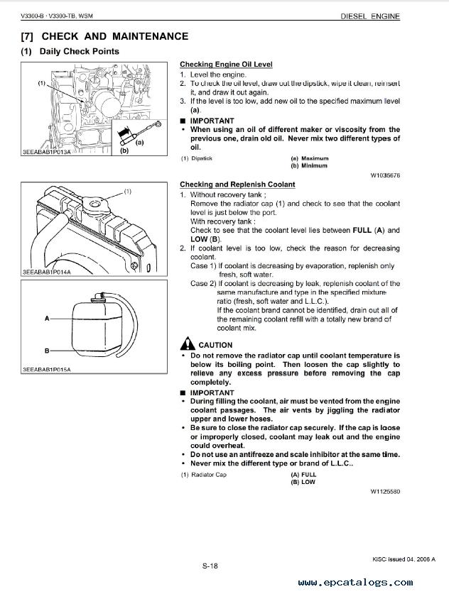 Kubota l1501 Service manual free