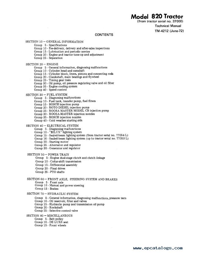 john deere 820 tractor tm 4212 technical manual pdf john deere 820 tractor tm4212 technical manual pdf