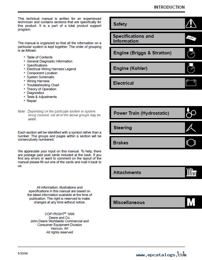 john tractor service/repair manuals wiring diagram for sabre lawn mower  wiring library  same professional technicians  john deere sabre user manual  manual