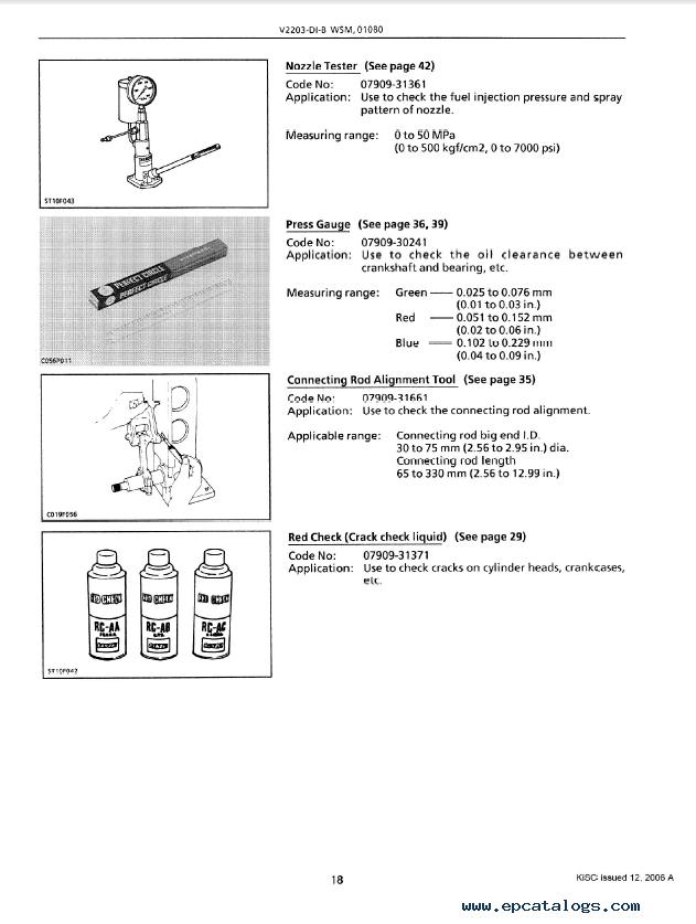 Kubota V2203 Wiring Diagram Pdf - WIRE Center •