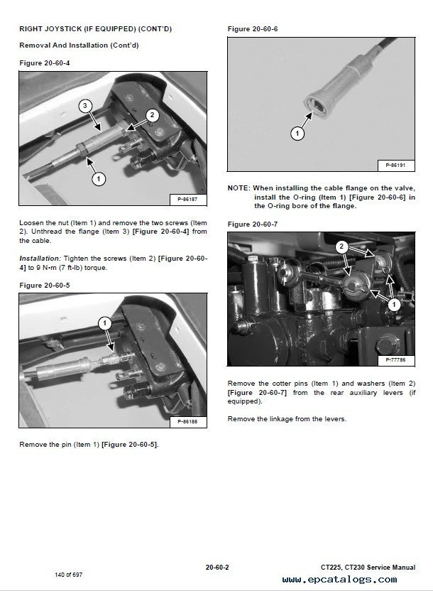 bobcat ct225 ct230 compact tractors service manual pdf wiring diagram bobcat ct120 for sale diagram wiring diagrams for  at fashall.co