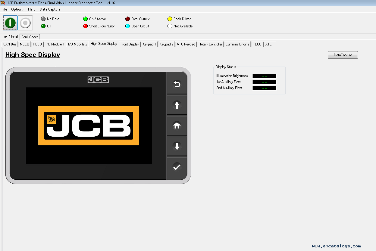 JCB ServiceMaster 4 v1 77 1 2019 Diagnostic Software