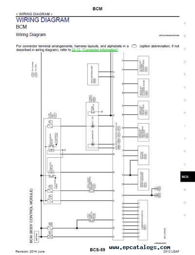 Nissan Leaf Wiring Diagram Pdf