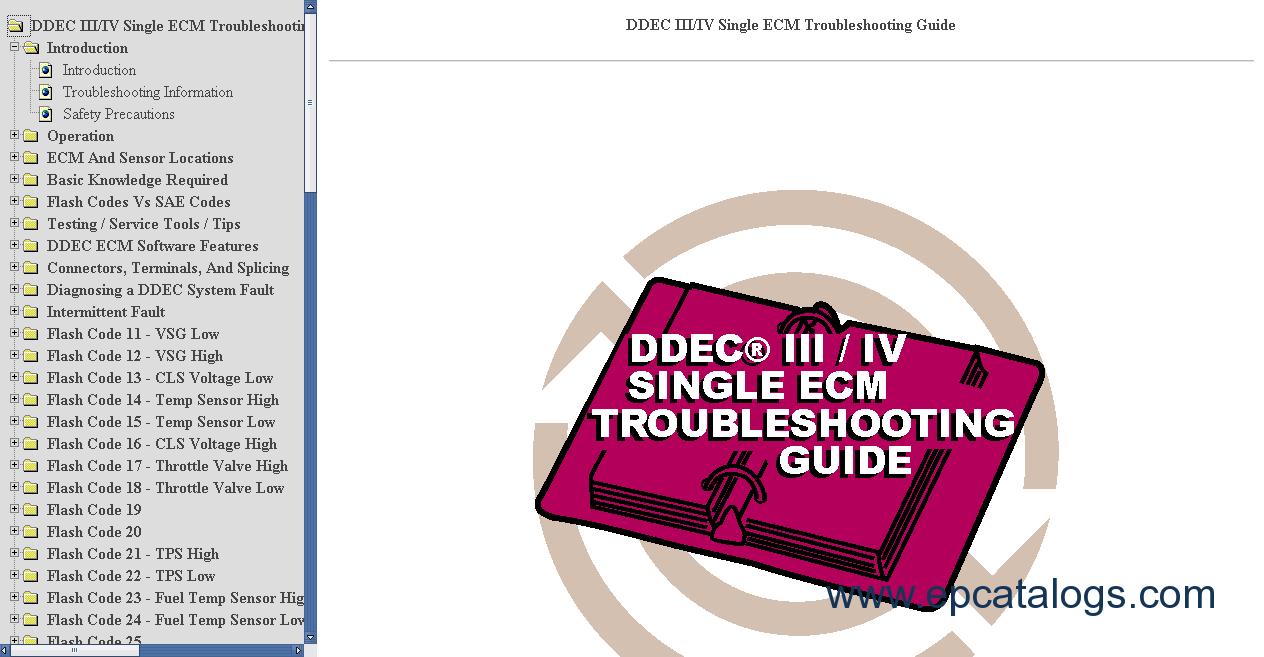 Awe Inspiring Ddec V Service Manual Wiring Cloud Hisonuggs Outletorg