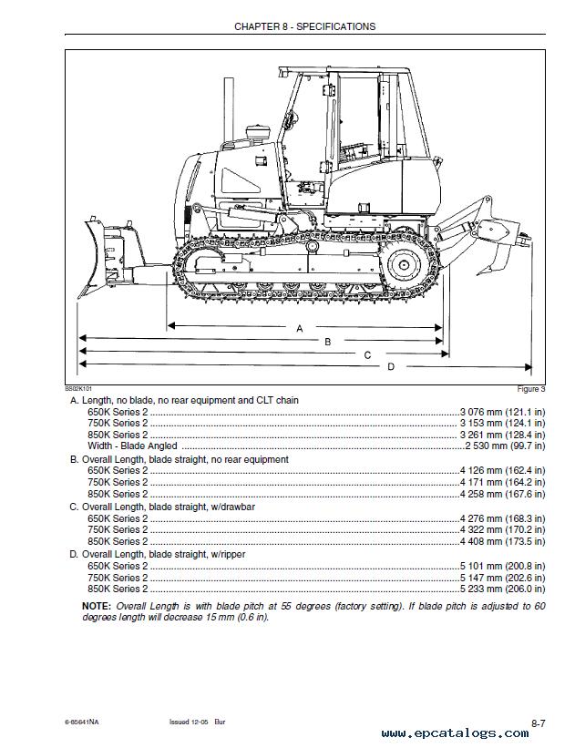 Case 650K Tier II 750K Tier II 850K Tier II Crawler PDF