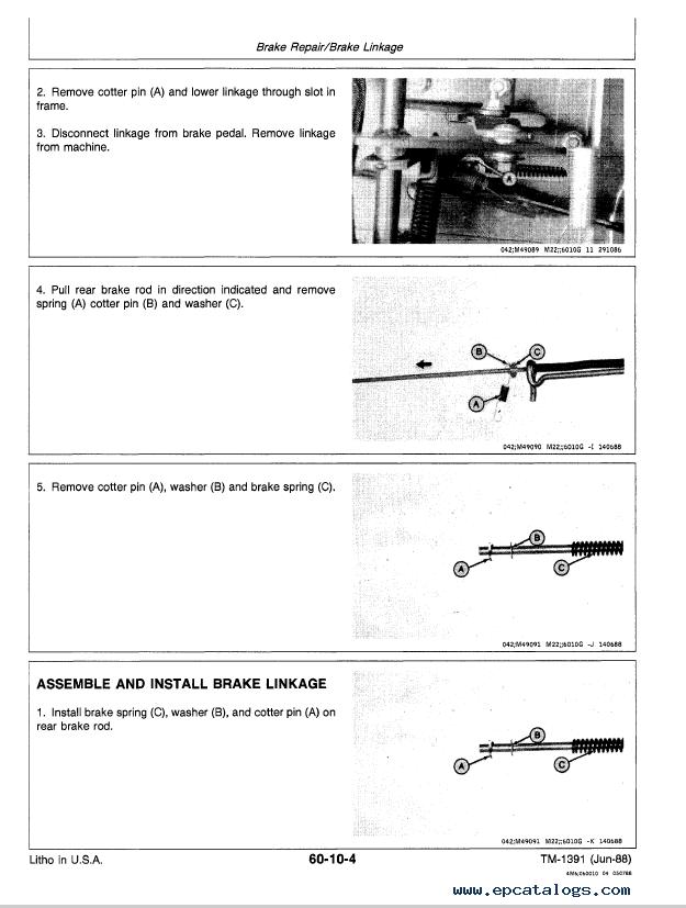 John deere push Mower manual