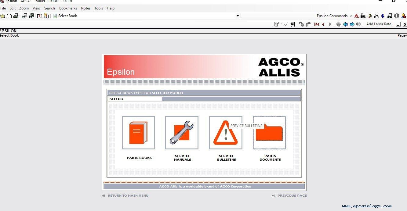 Agco Allis agco allis, spare parts catalog, heavy technics repair 6690 agco allis wiring diagram at gsmx.co