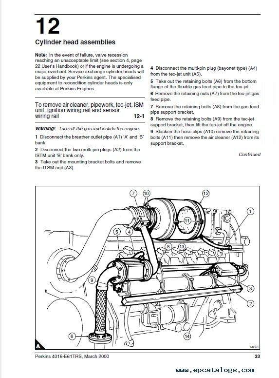perkins 4016 e61trs engine workshop manual pdf