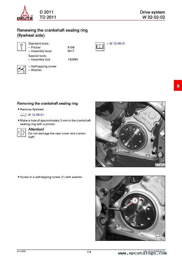 Deutz 2011 Service Manual