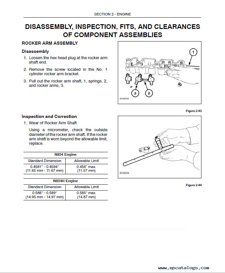 New Holland L465 LX465 LX485 Loaders PDF Manual on
