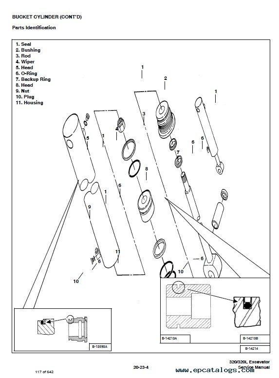 Bobcat 320 320l Excavator Service Manual Pdf
