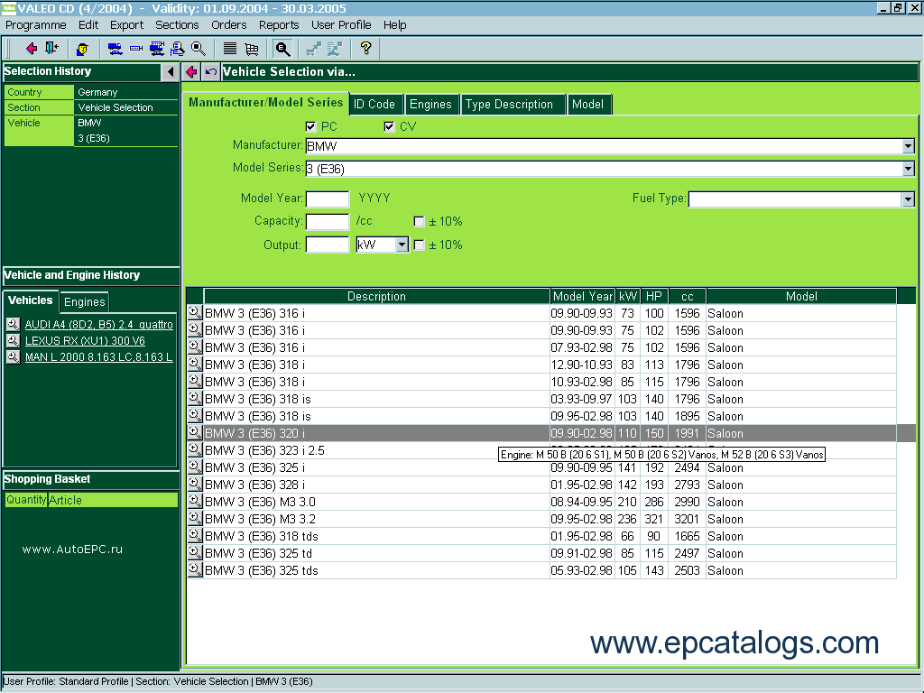 Valeo Epc Spare Parts Catalog