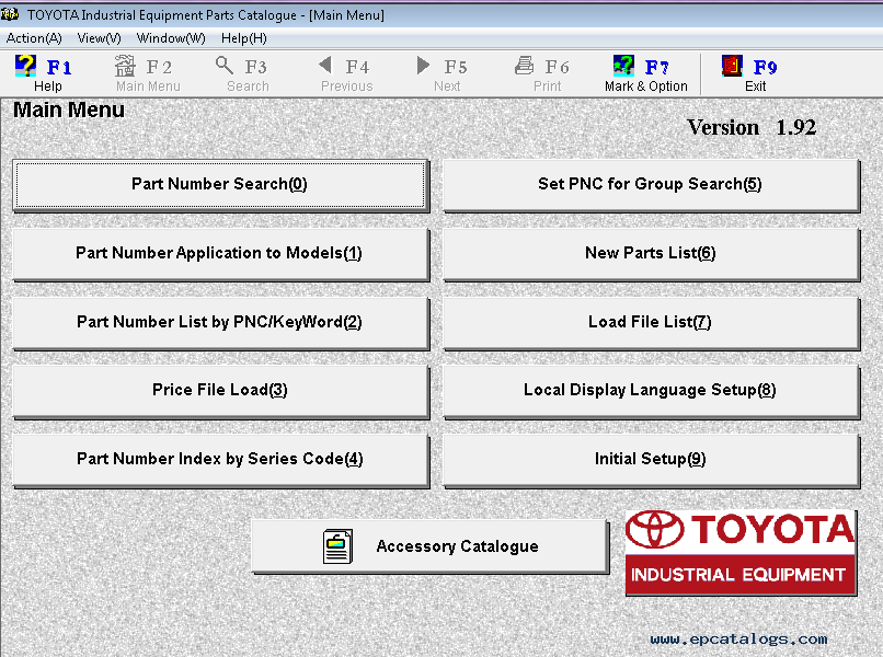 Toyota industrial equipment v196 parts catalog spare parts enlarge sciox Choice Image
