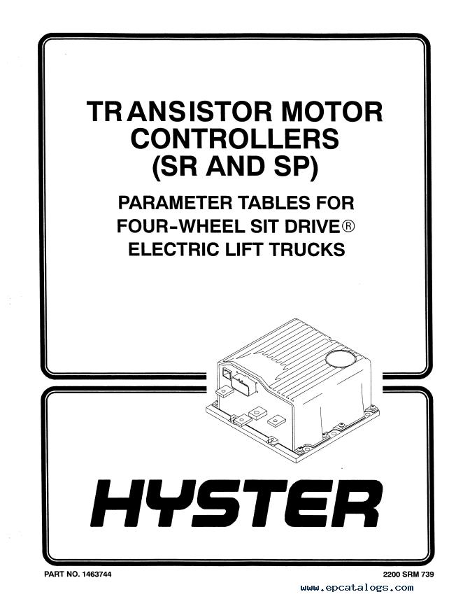 hyster class 1 f108 e40