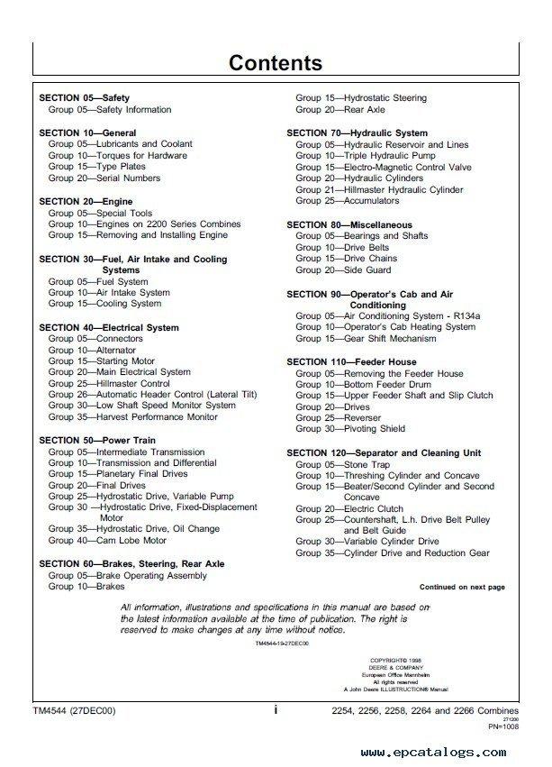 john deere 2010 service manual pdf