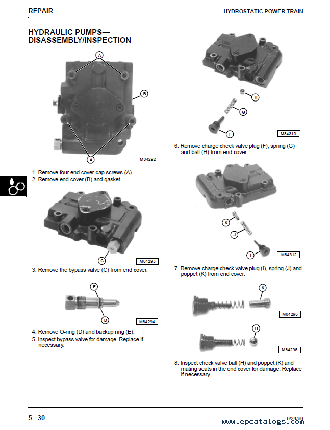 john deere mid mount ztrak m653 m655 m665 tm1778 technical manual pdf john deere mid mount ztrak m653, m655, m665 tm1778 technical john deere m655 parts diagram at gsmx.co