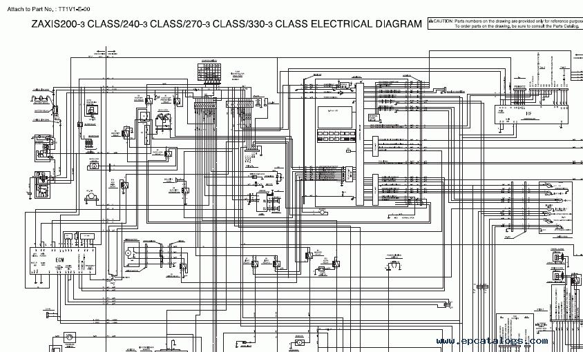 Hitachi Service Manual Zx200
