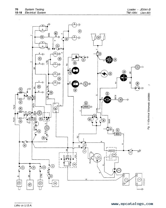 John Deere Jd544b Loader Tm1094 Technical Manual Pdf