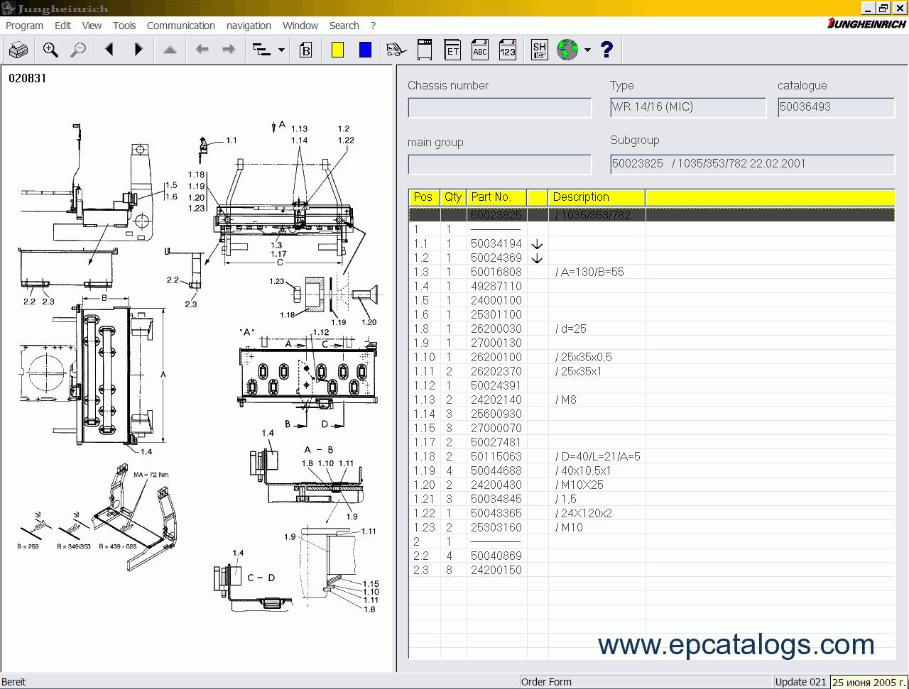Jungheinrich Wiring Diagram Forklift Jeti Full Complete Set Et Sh Judit V4 20 Crown