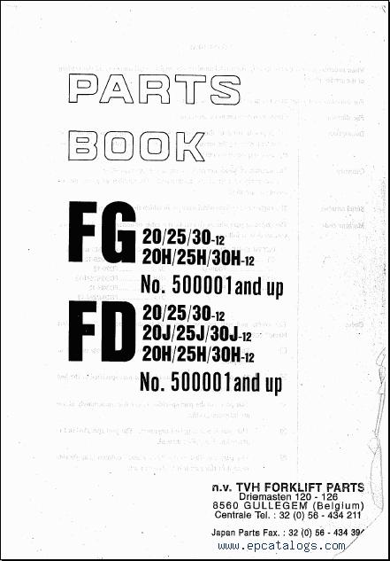 Komatsu Forklift 2009 repair manual Forklift Trucks Manuals – Komatsu 25 Forklift Light Wiring Diagram