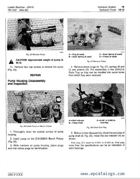 john deere backhoe loader tm technical manual pdf repair deere 410 backhoe loader tm1037 technical manual pdf 5 enlarge