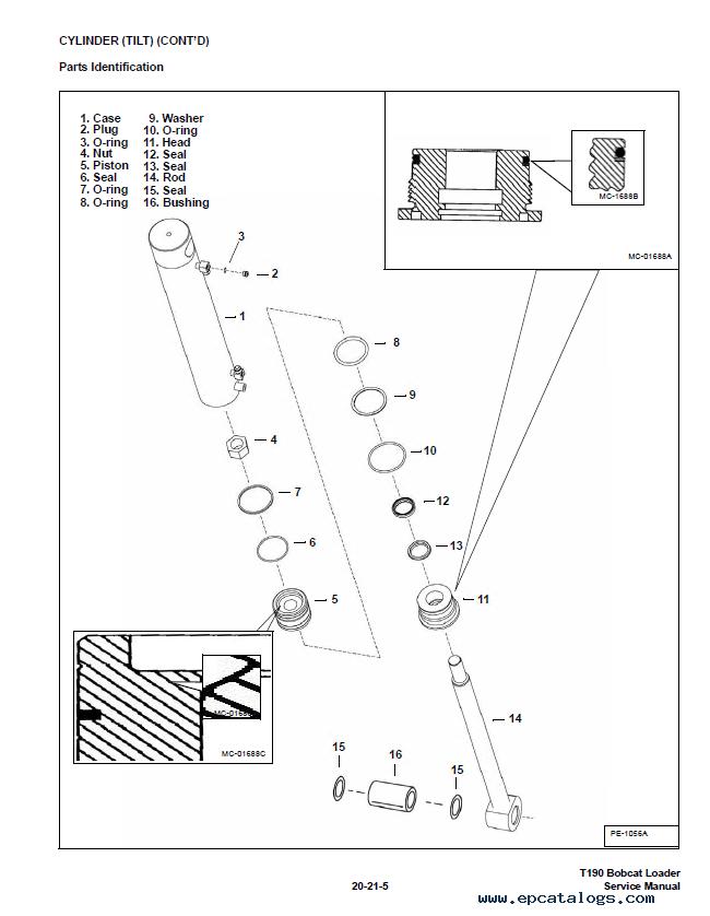 T190 Bobcat service manual
