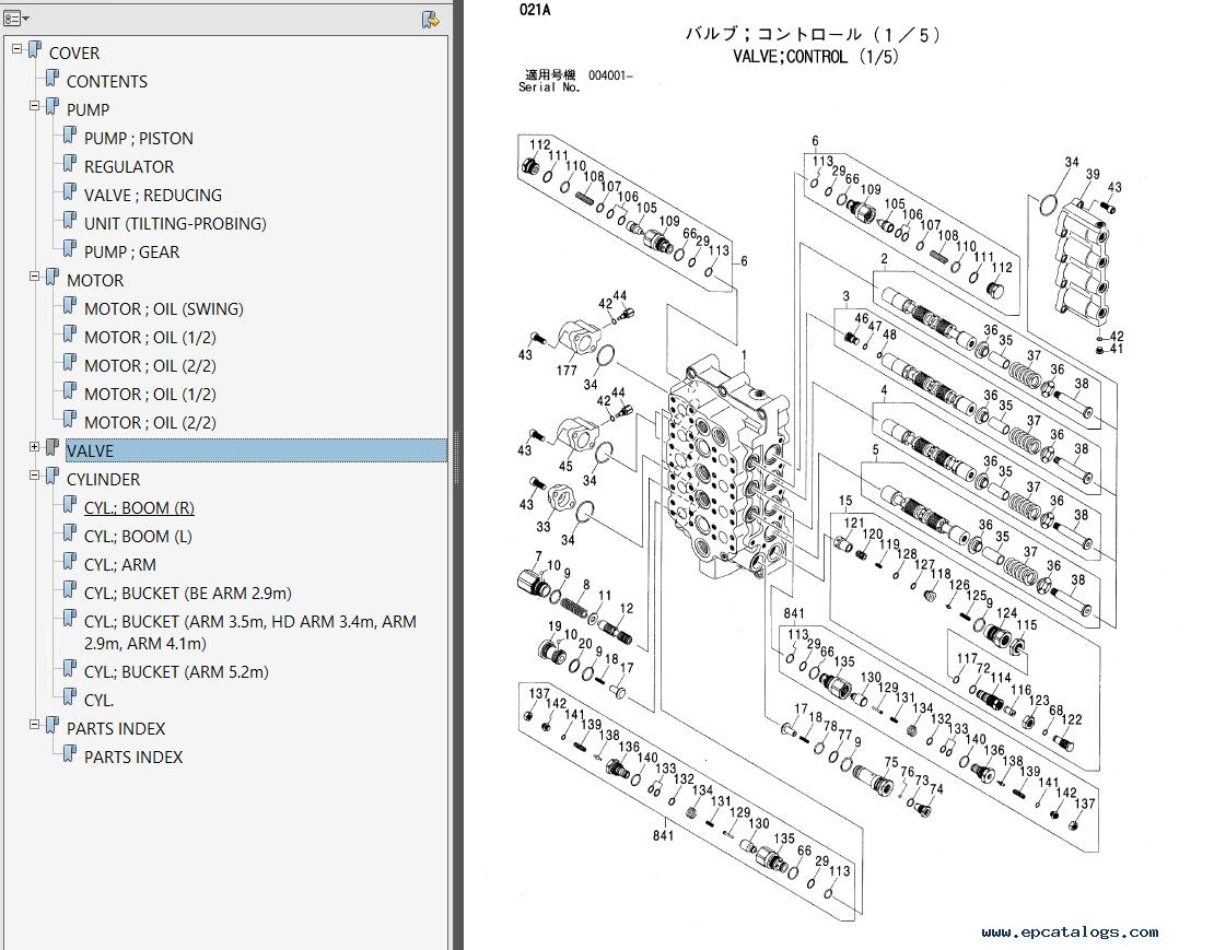 repair manual Hitachi Zaxis 600 600LC 600H 600LCH Hydraulic Excavators Set  of PDF Manuals - 4