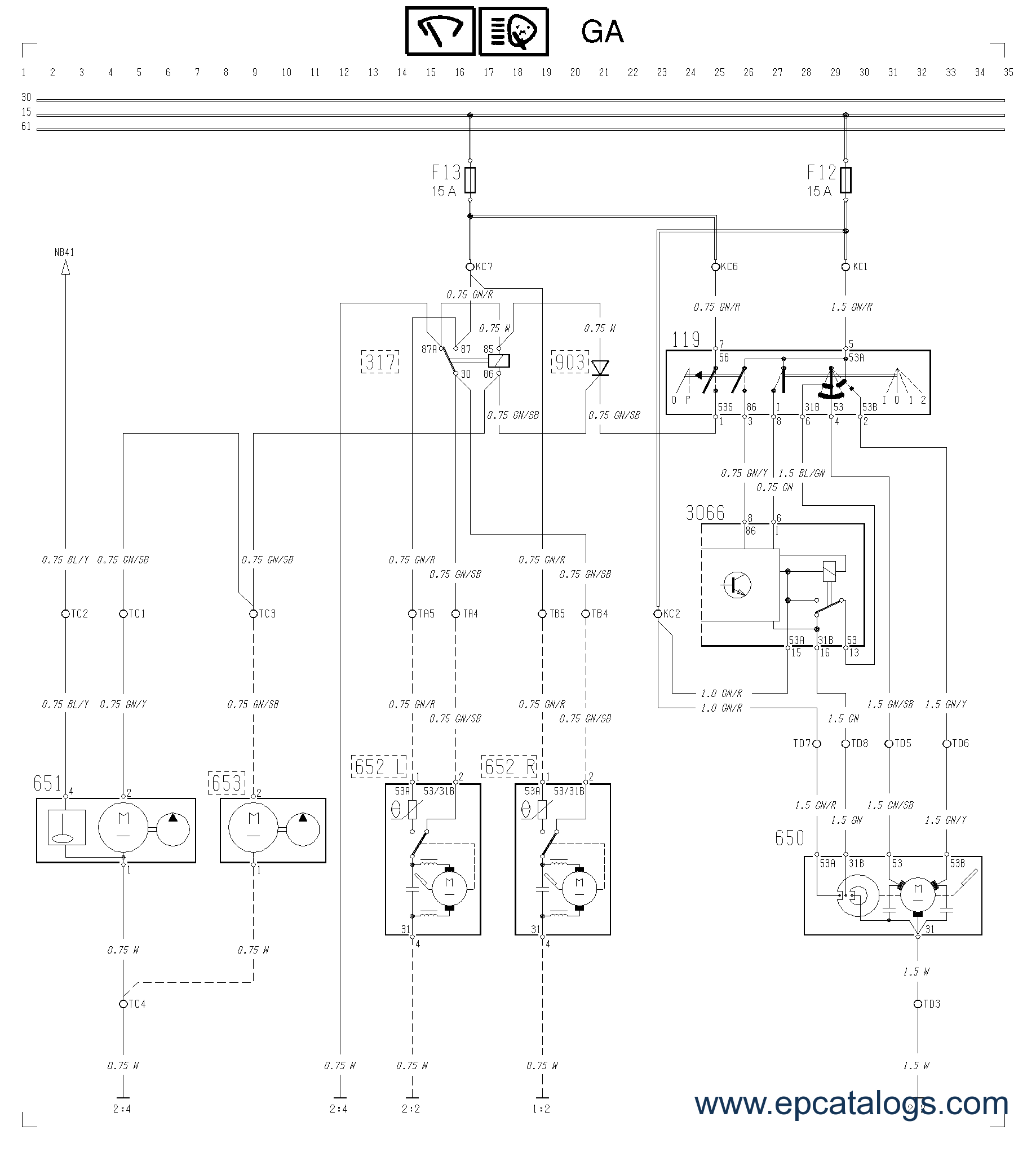 Volvo Impact 2010 Bus Lorry Wiring Diagram Fl10 Enlarge